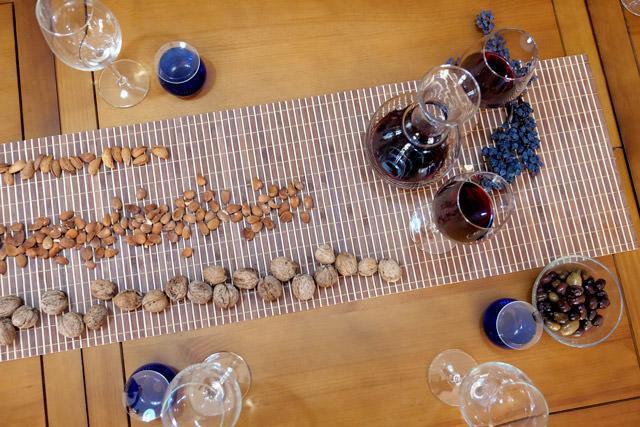 Cata de vinos durante su escapada rural