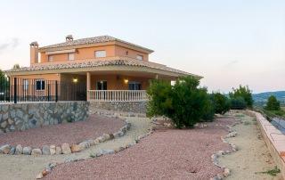 Casa rural vista exterior